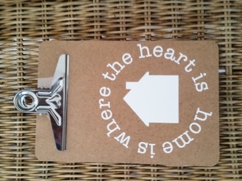 stempel sticker stempelsticker Home is where the heart is