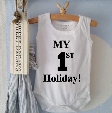 Romper My first Holiday