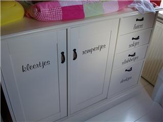 kinderkamer stickers > geef uw kinderkamer iets extra's, Deco ideeën