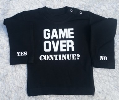 Shirtje Game over continue ?