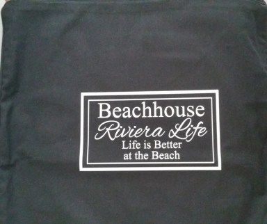 Kussenhoes Beachhouse Riviera Life Life is better at the Beach