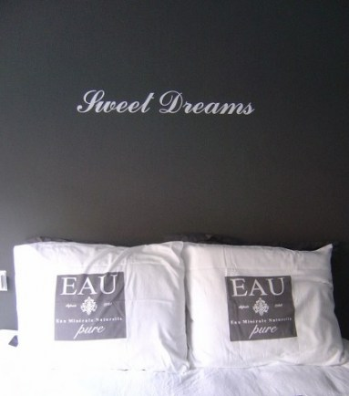 Sweet dreams muur sticker