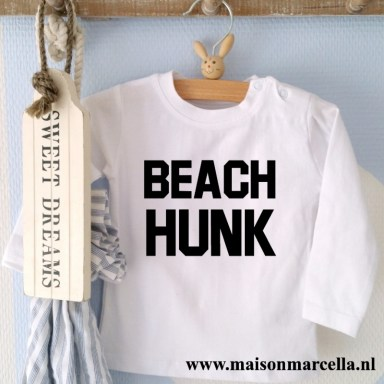 Shirtje Beach Hunk